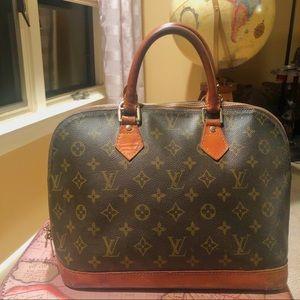 Louis Vuitton Alma Purse Bag LV Monogram